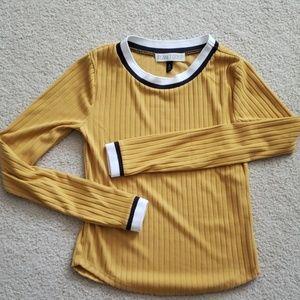 Soft polyester long sleeve shirt